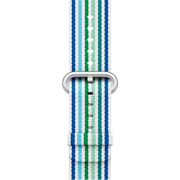 Ремешок Apple 38mm Blue Stripe Woven Nylon