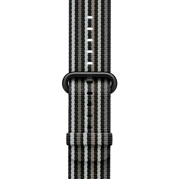 Ремешок Apple 38mm Black Stripe Woven Nylon