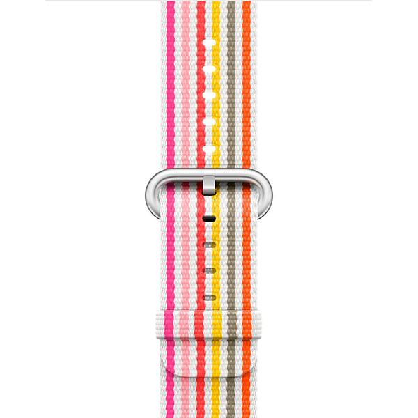 Ремешок Apple 42mm Pink Stripe Woven Nylon