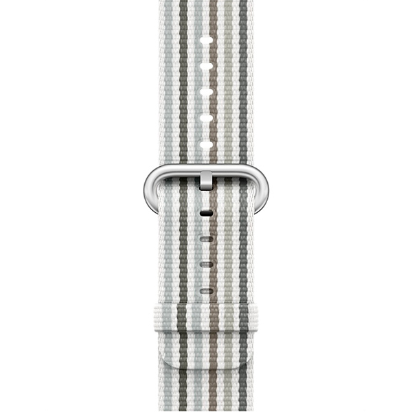 Ремешок Apple 42mm Gray Stripe Woven Nylon