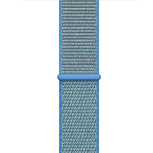 Ремешок Apple 42mm Tahoe Blue Sport Loop ремешок apple 42mm midnight blue sport band s m