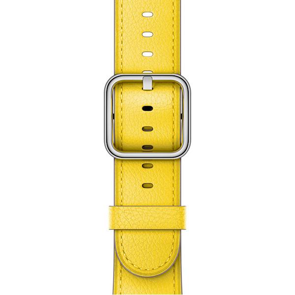 Ремешок Apple 38mm Spring Yellow Classic Buckle