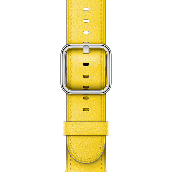 Ремешок Apple 42mm Spring Yellow Classic Buckle ремешок apple 42mm saddle brown classic buckle mpwt2zm a