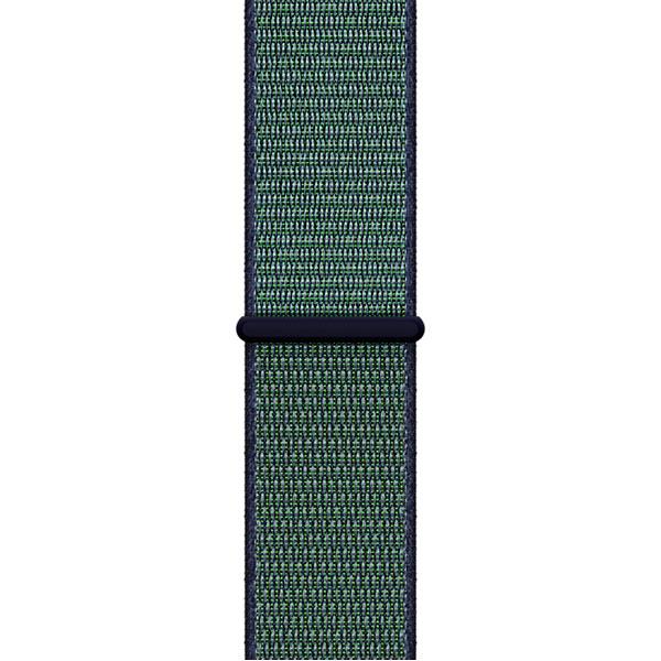 Ремешок Apple 38mm Midnight Fog Nike Sport Loop умные часы apple watch series 3 38mm grey space with black sport band mqkv2ru a