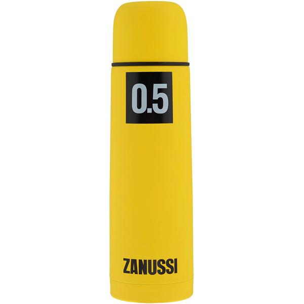 Термос Zanussi Cervinia 0,5л Yellow (ZVF21221CF) zanussi форма для 6 маффинов turin 38 3х25 2х4 5 см