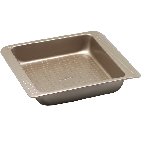 Форма для выпекания (металл) Zanussi Turin 27,5х23,4х5см Bronze (ZAC21112CF)