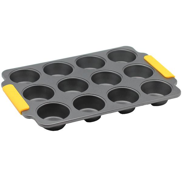 Форма для выпекания (металл) Zanussi Amalfi 38х29,5х3,5см Black (ZAC35413CF) форма для 6 маффинов 29 4х21х3 5 см nadoba rada 761016