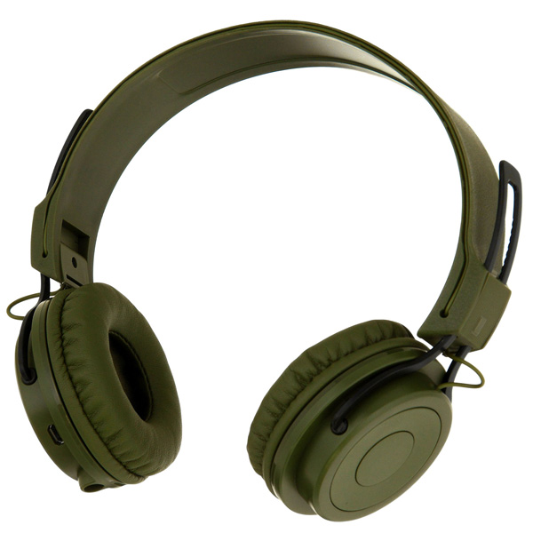 Наушники Bluetooth Rombica Mysound BH-02 2C Green (BH-00022) bluetooth гарнитура nokia bh 505 в запорожье