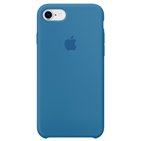 Чехол для iPhone Apple iPhone 8/7 Silicone Case Denim Blue чехол apple для iphone 7 8 silicone case черный