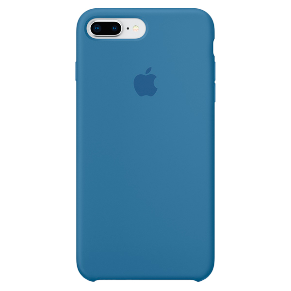 Чехол для iPhone Apple iPhone 8 Plus/7 Plus Silicone Case - Denim Blue 1000pcs dupont head 2 54mm 1p 1x1p dupont plastic shell pin head connector jumper wire cable housing plug female