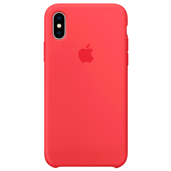 Чехол для iPhone Apple iPhone X Silicone Case Red Raspberry кейс для микшерных пультов thon mixer case powermate 1600 2