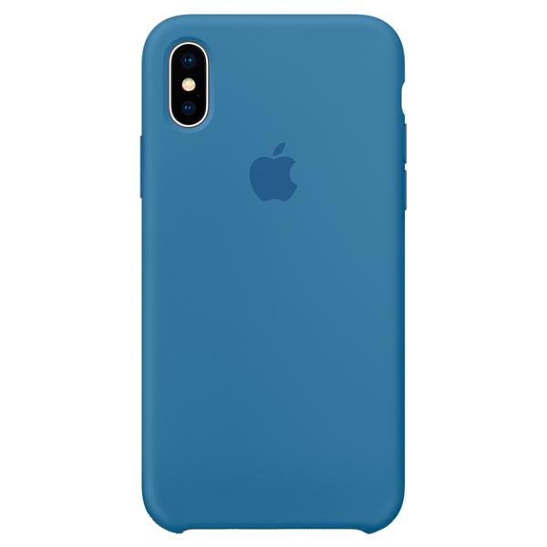 Чехол для iPhone Apple iPhone X Silicone Case Denim Blue кейс для диджейского оборудования thon case for xdj rx notebook