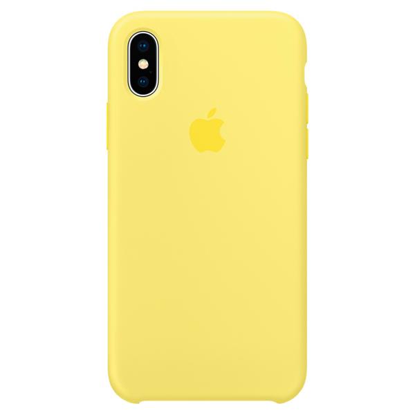 Чехол для iPhone Apple iPhone X Silicone Case Lemonade чехол накладка apple silicone case pollen для iphone 7 plus mq5e2zm a силикон желтый