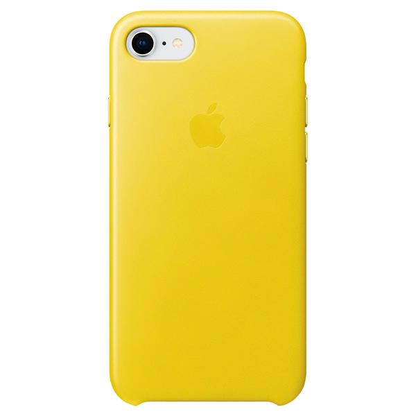 Чехол для iPhone Apple iPhone 8/7 Leather Case Spring Yellow чехол для apple iphone 8 7 leather case taupe
