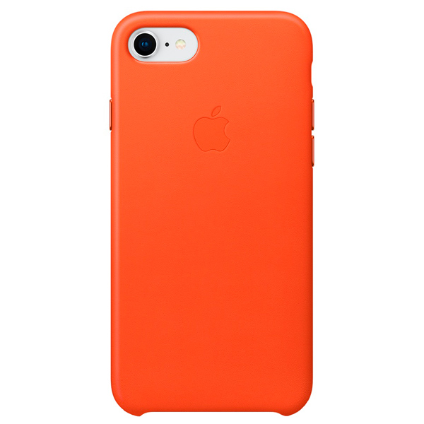 Чехол для iPhone Apple iPhone 8/7 Leather Case Bright Orange чехол для apple iphone 8 7 leather case taupe