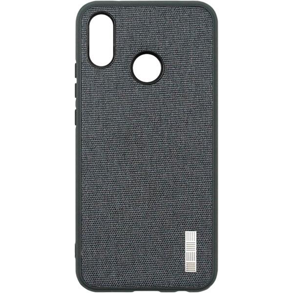 Чехол для сотового телефона InterStep Tex-Met ADV для Huawei P20 Lite Gray чехол для iphone interstep для iphone x soft t metal adv красный