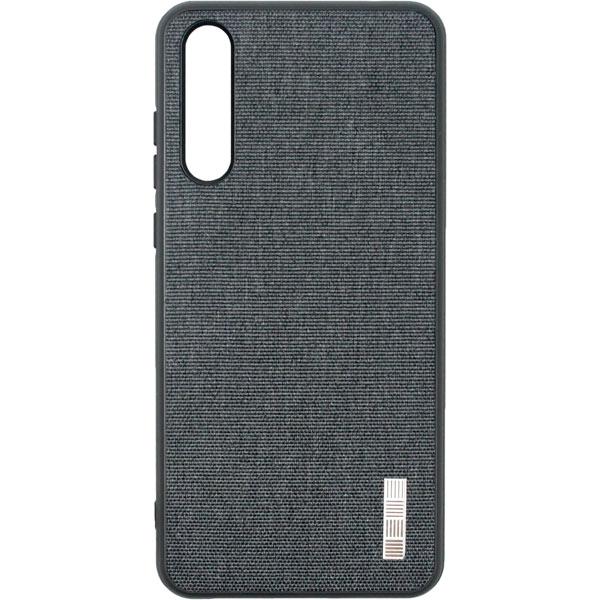 Чехол для сотового телефона InterStep Tex-Met ADV для Huawei P20 PRO Gray чехол для iphone interstep для iphone x soft t metal adv красный