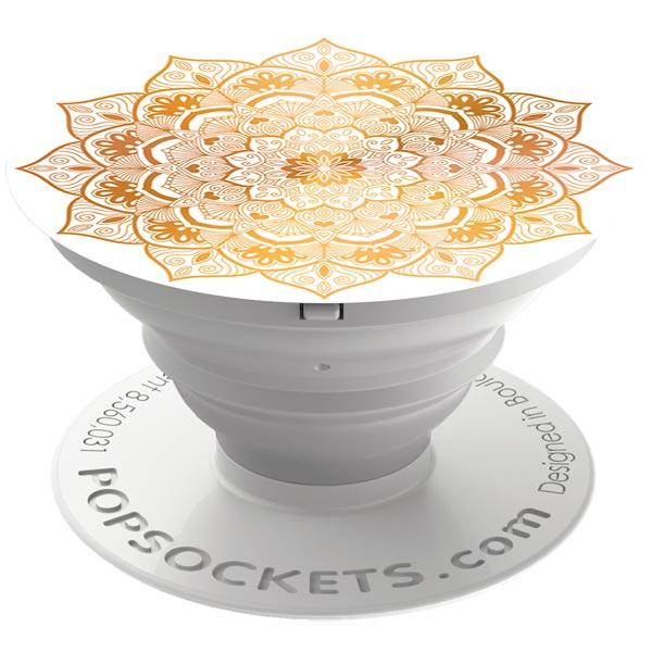 Кольцо-держатель для телефона Popsockets Golden Silence (101466)