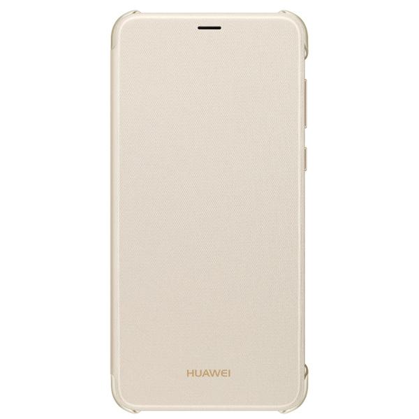 Чехол для сотового телефона Huawei Flip Cover для P Smart Gold (51992414) чехол для сотового телефона honor 6x smart cover gold