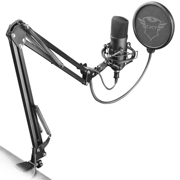 Микрофон для компьютера Trust GXT 252+ Emita Plus (22400)