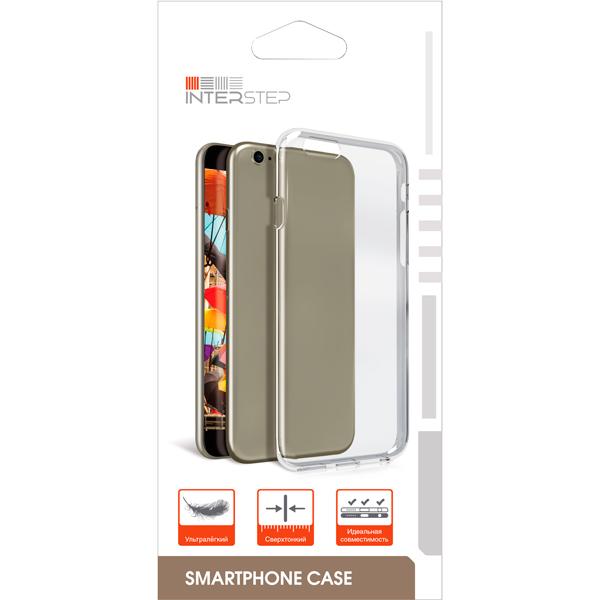 Чехол для сотового телефона InterStep Slender ADV для Huawei Y9 2018, Transparent чехол для сотового телефона interstep slender adv для xiaomi redmi note 5a 16gb transp