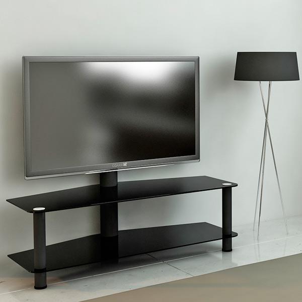 Подставка для ТВ с кронштейном MetalDesign MB-55-1 Black/Black