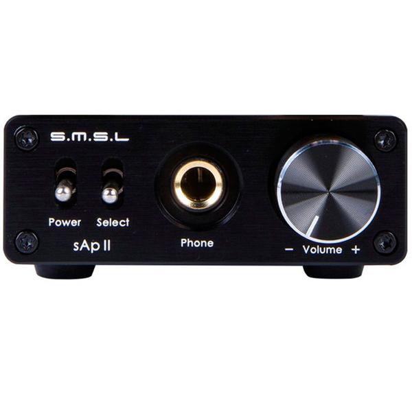 Усилитель для наушников SMSL SAP-II Black - характеристики, техническое описание в интернет-магазине М.Видео - Москва - Москва