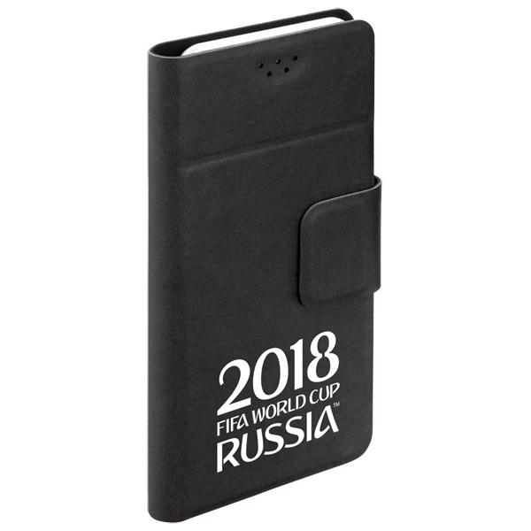 Универсальный чехол для смартфона 2018 FIFA WCR Official Logotype 4,3-5,5 (104563) чехлы для телефонов norton чехол книжка norton универсальный 4 3 4 7 с выдвижным механизмом