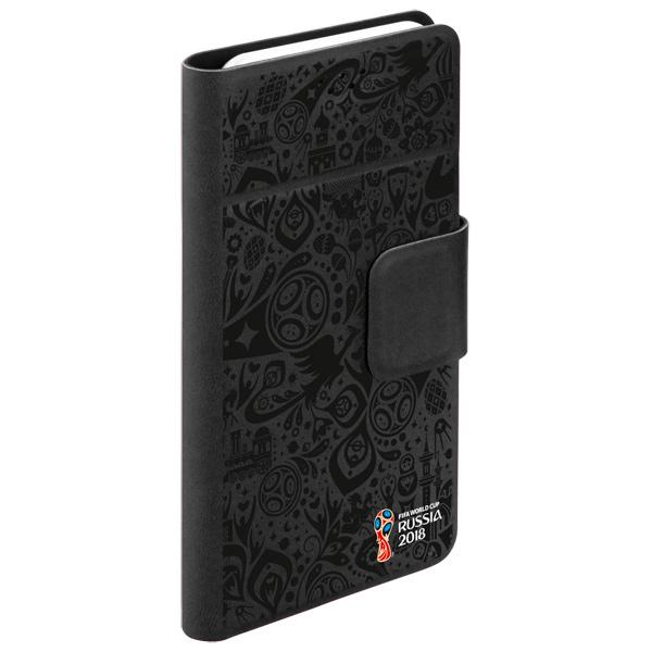 Универсальный чехол для смартфона 2018 FIFA WCR Official Pattern 4,3-5,5 Black (104564) чехлы для телефонов norton чехол книжка norton универсальный 4 3 4 7 с выдвижным механизмом
