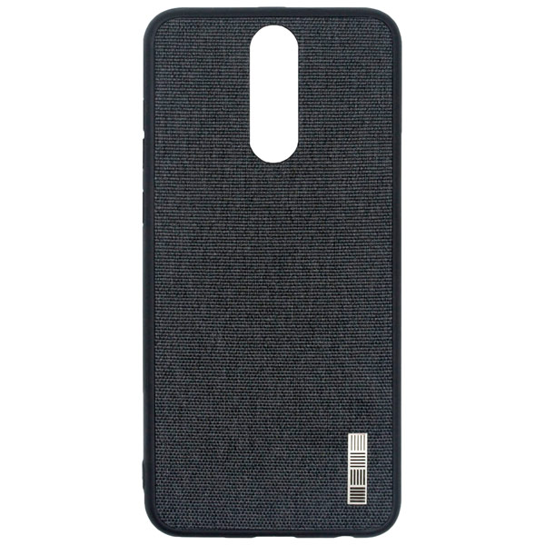Чехол для сотового телефона InterStep Tex-Met ADV для Huawei Nova 2i, Gray чехол для iphone interstep для iphone x soft t metal adv красный