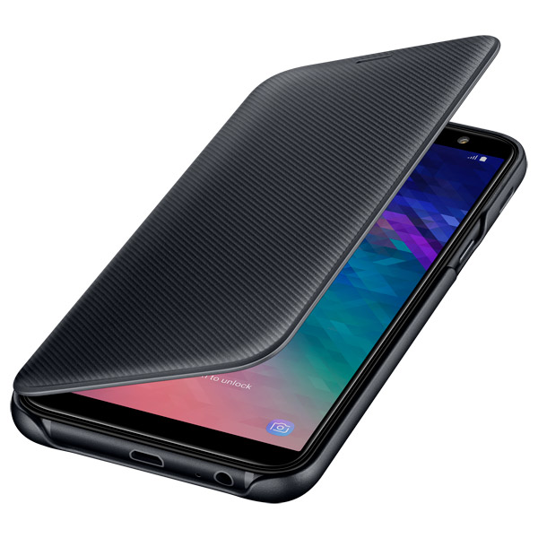 Чехол Samsung Wallet Cover для  Galaxy A6 (2018), Black