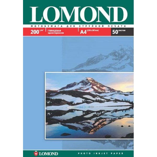 Фотобумага для принтера Lomond