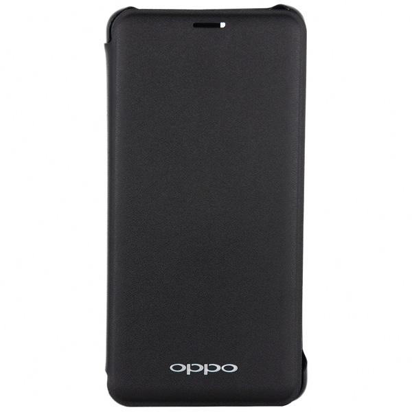 Чехол для сотового телефона OPPO Flip Cover для Oppo F7, Black (AC-COV-F7BLK) электросамокат hoverbot f 7 premium цвет black черный