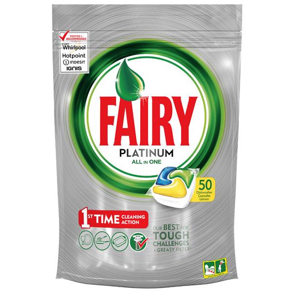 Моющее средство для посудомоечной машины Fairy Platinum 50 All-in-One