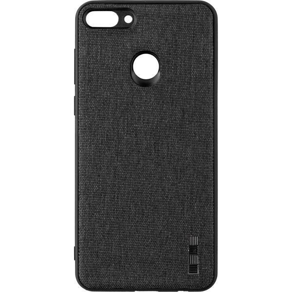 Чехол для сотового телефона InterStep Tex-Met ADV для Huawei Y9 2018, Gray чехол для iphone interstep для iphone x soft t metal adv красный