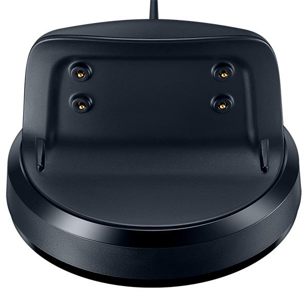 Сетевое зарядное устройство  кабелем Samsung док-станция для  Gear Fit2 Pro, Black