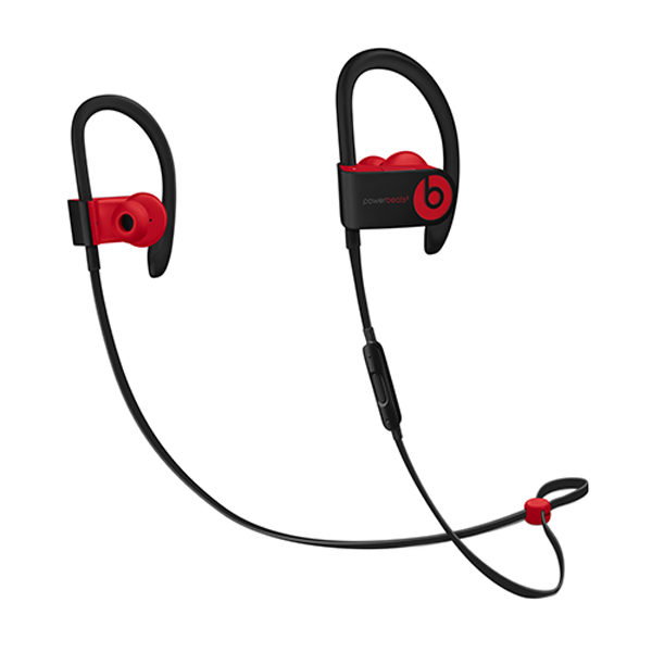 Спортивные наушники Bluetooth Beats Powerbeats3 Wireless Decade Black/Red (MRQ92ZE/A) наушники beats powerbeats3 wireless yellow mnn02ze a