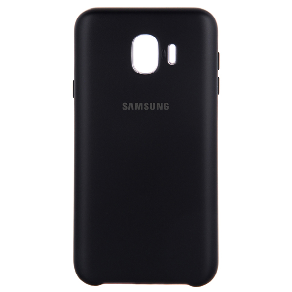 Чехол для Samsung Samsung Dual Layer Cover д/Samsung Galaxy J4 (2018),Black чехол для для мобильных телефонов rcd 4 samsung 4 for samsung galaxy note 4 iv