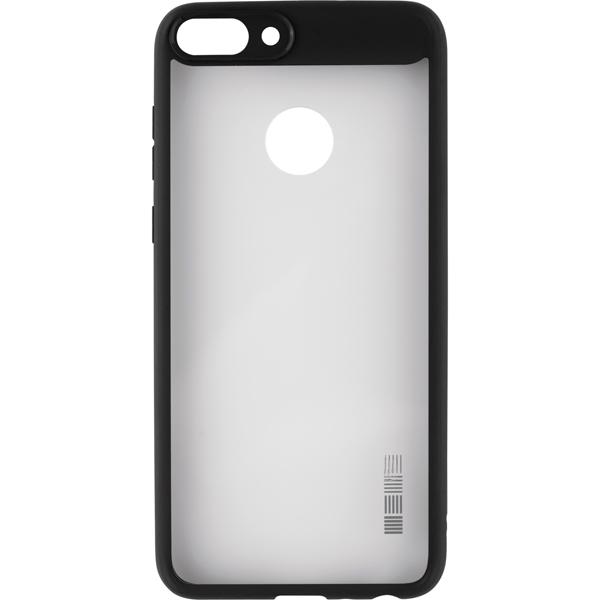 Чехол для сотового телефона InterStep Pure-Case ADV для Huawei P Smart, Black чехол для сотового телефона interstep slender adv для xiaomi redmi note 5a 16gb transp