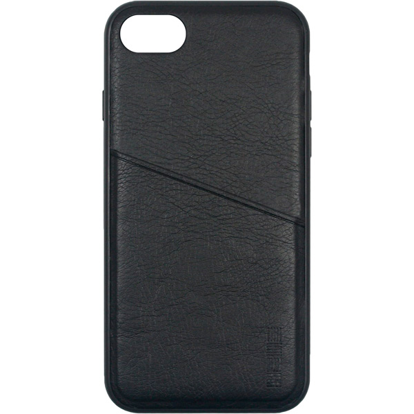 Чехол для iPhone InterStep Antiq-Pocket ADV для Apple iPhone 8/7, Black чехол для iphone interstep iphone 7 8 pure case adv черный