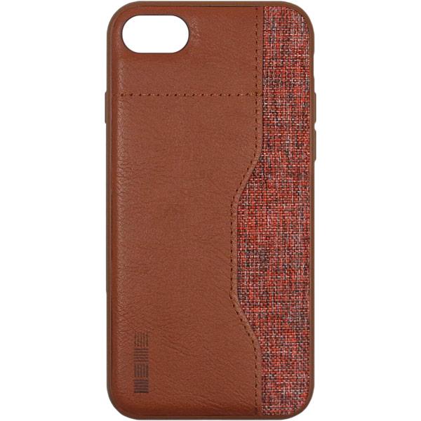 Чехол для iPhone InterStep Darty ADV для Apple iPhone 8/7, Brown чехол для iphone interstep для iphone x soft t metal adv красный
