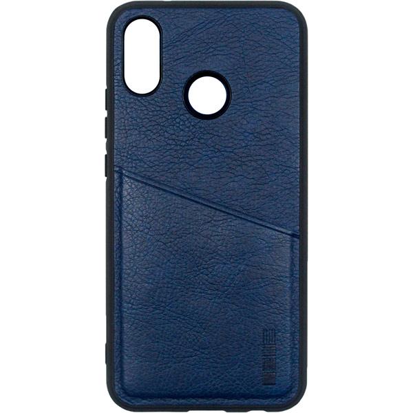 Чехол для сотового телефона InterStep Antiq-Pocket ADV для Huawei P20 Lite, Dark Blue чехол для iphone interstep для iphone x soft t metal adv красный