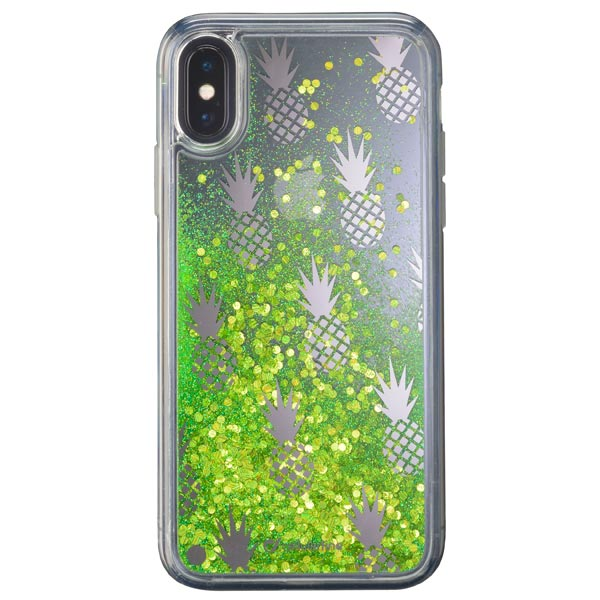 Чехол для iPhone Cellular Line Stardust Pineapple для Apple iPhone X cellular line satiniph647g green