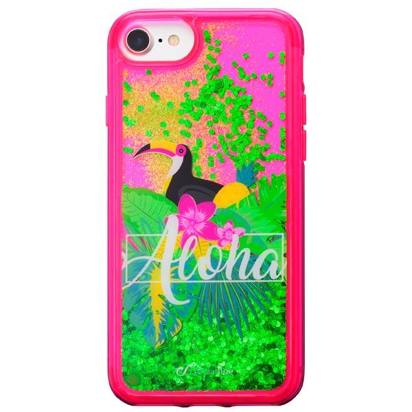 Чехол для iPhone Cellular Line Stardust Aloha для Apple iPhone 8/7 чехол для iphone 8 7 cellular line zeroiph747t