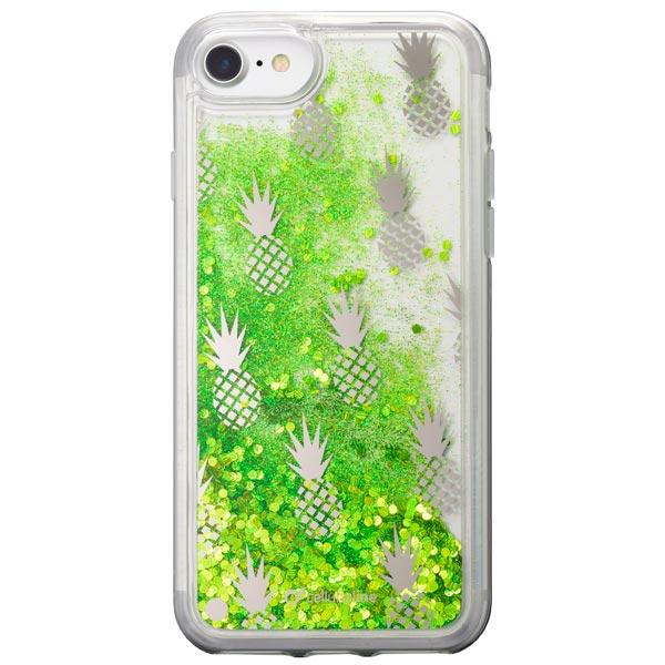 Чехол для iPhone Cellular Line Stardust Pineapple для Apple iPhone 8/7 чехол для iphone 8 7 cellular line zeroiph747t