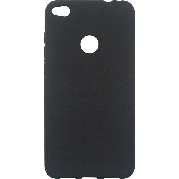 Чехол для сотового телефона InterStep Sand ADV для Huawei 8 lite, Black защитное стекло interstep для huawei nova lite 2017 black
