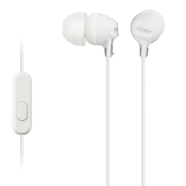 Наушники внутриканальные Sony — MDR-EX14AP White