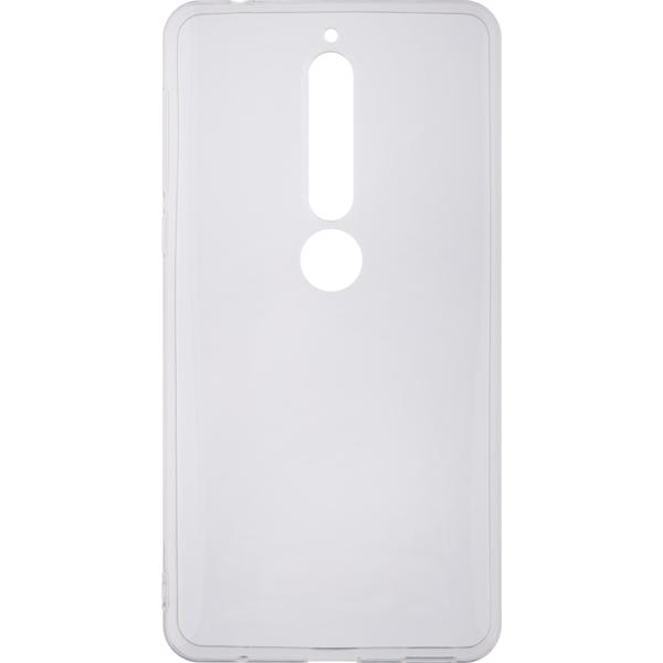 Чехол для сотового телефона InterStep Slender ADV для Nokia 6.1, Transparent чехол для сотового телефона interstep slender adv для xiaomi redmi note 5a 16gb transp