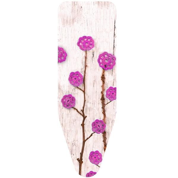 Чехол для гладильной доски Colombo Fiori Di Lana M (124х46) Rosa