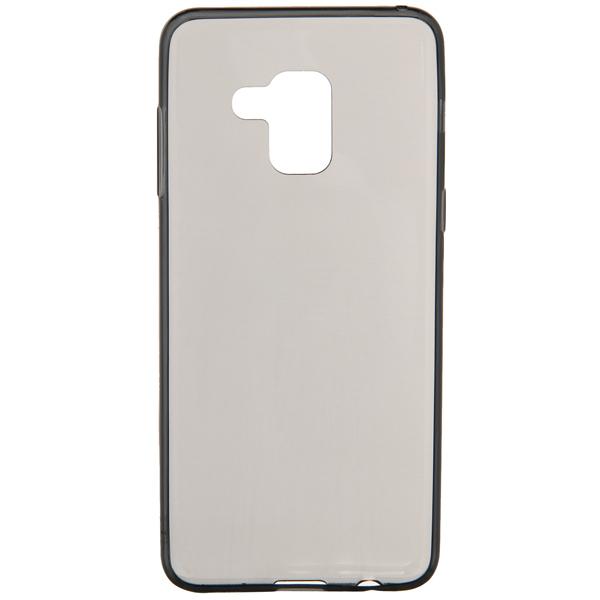 Чехол Vipe Color для Samsung Galaxy A8, Transparent/Grey чехол для сотового телефона vipe для samsung galaxy a8 color черный